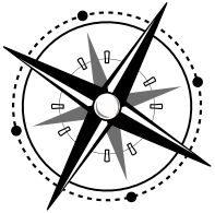 Research Guides Compass Rose Icon