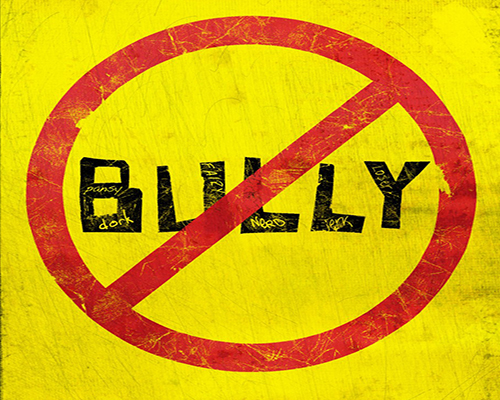 Photo from Bully Movie Logo Being Played at Glendale Public Library