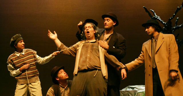 "GCC Play ""Waiting for Godot"", Found on GCC Flickr Page: https://www.flickr.com/photos/gccaz/6552178429/"