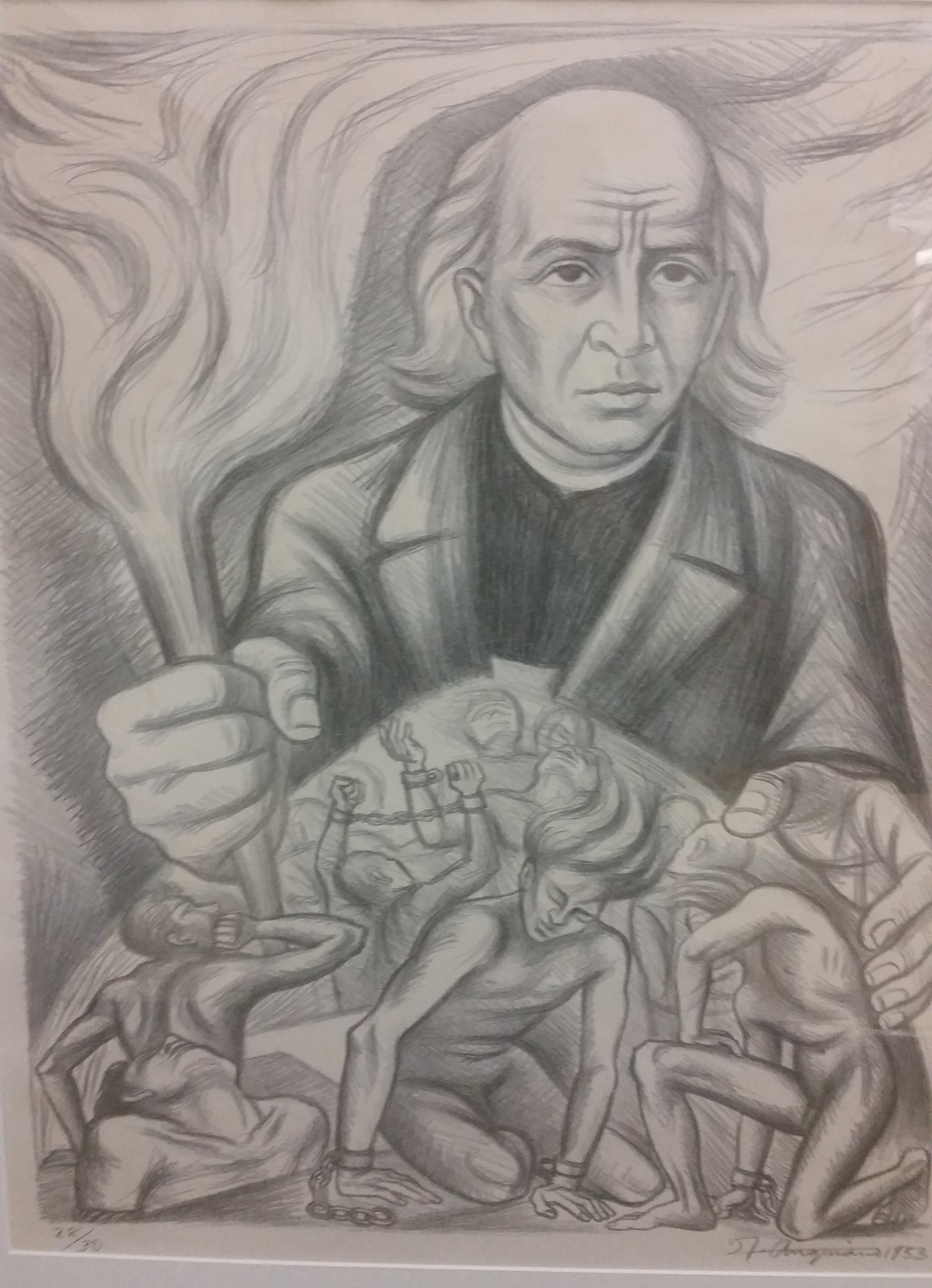 Drawing of Miguel Hidalgo y Costilla Image