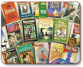 Picture of Townsend Press book covers